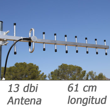 antena 13 dbi