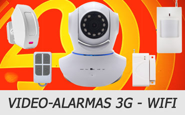 video alarmas 3g - wifi