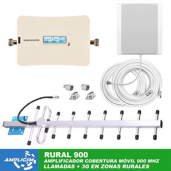 Amplificador cobertura teléfono móvil DOMIC 900 RURAL