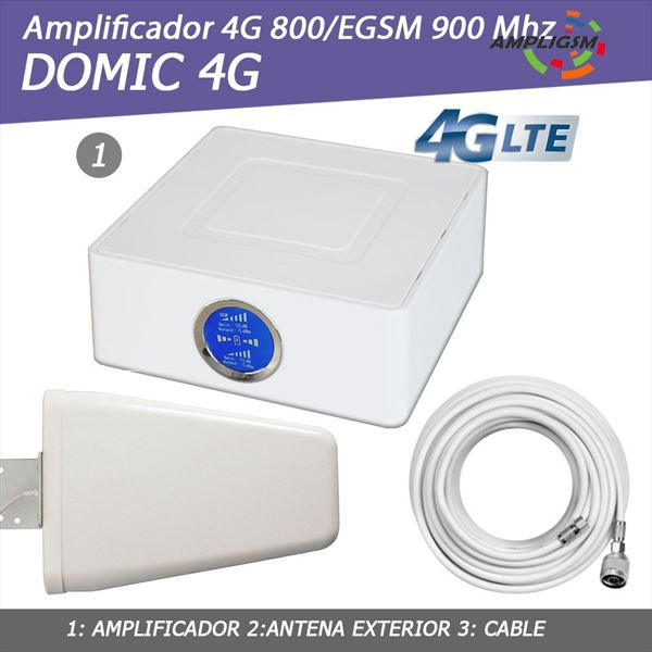 Amplificador Domic 4G