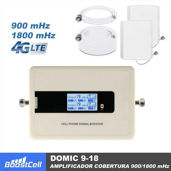 Amplificador señal teléfono móvil DOMIC 9-18