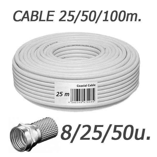 Precio cable de antena latest cable stick adaptador for Cable antena tv precio
